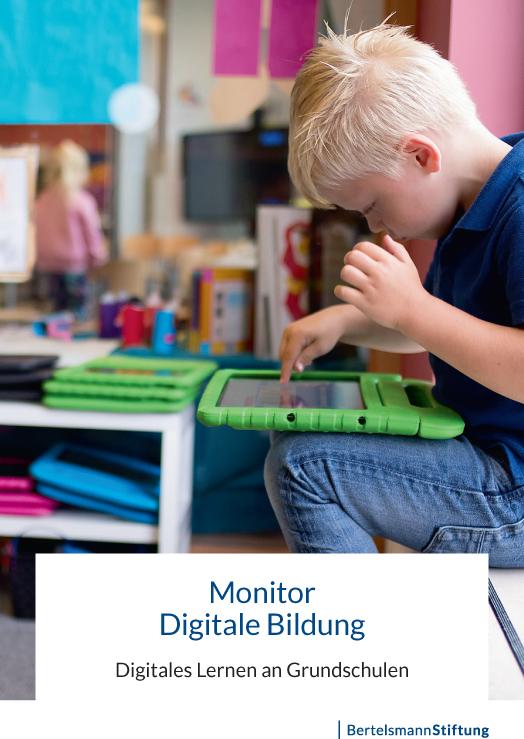 Broschüre zum digitalen Lernen an Grundschulen erschienen